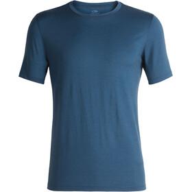 Icebreaker Tech Lite Miehet Lyhythihainen paita , sininen